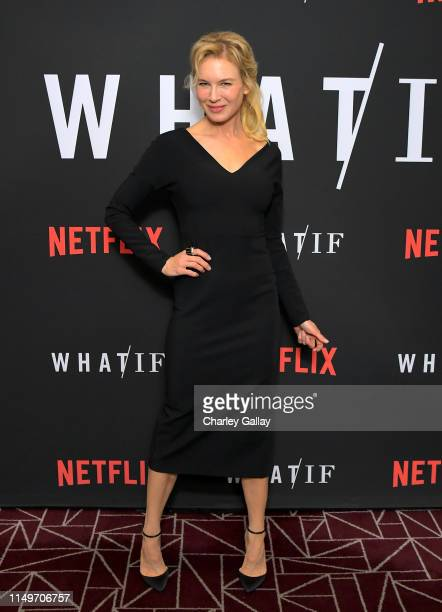 Renée Zellweger attends Netflix's 'WHAT / IF' Special Screening at The London West Hollywood on May 16 2019 in West Hollywood California