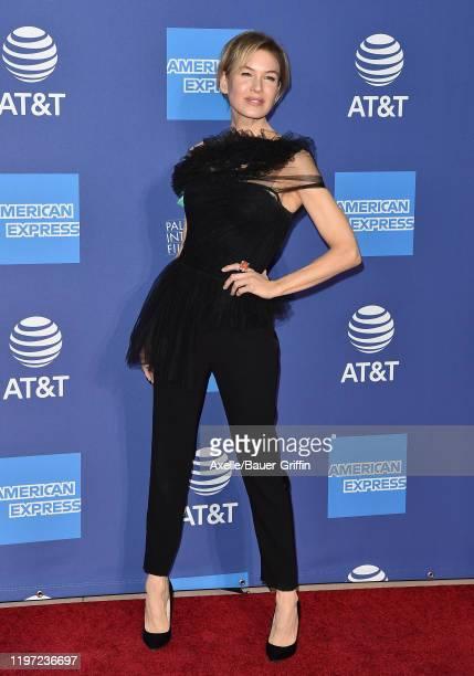 Renée Zellweger attends the 2020 Annual Palm Springs International Film Festival Film Awards Gala on January 02 2020 in Palm Springs California
