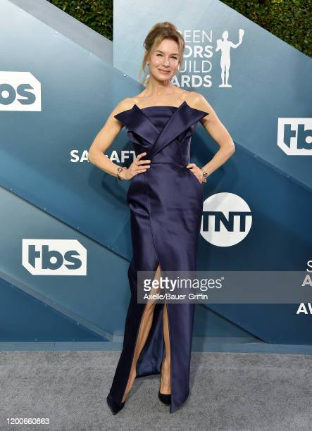 Renée Zellweger attends the 26th Annual Screen Actors Guild Awards at The Shrine Auditorium on January 19 2020 in Los Angeles California