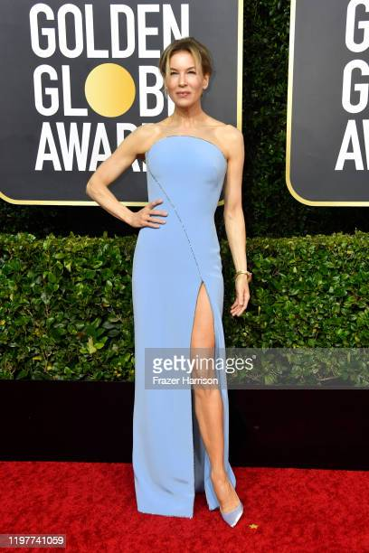 Renée Zellweger attends the 77th Annual Golden Globe Awards at The Beverly Hilton Hotel on January 05 2020 in Beverly Hills California