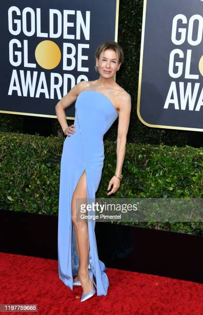 Renée Zellweger attends the 77th Annual Golden Globe Awards at The Beverly Hilton Hotel on January 05, 2020 in Beverly Hills, California.