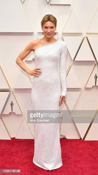 Renée Zellweger attends the 92nd Annual Academy Awards at Hollywood and Highland on February 09 2020 in Hollywood California