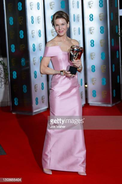 Renée Zellweger attends the EE British Academy Film Awards 2020 After Party at The Grosvenor House Hotel on February 02, 2020 in London, England.