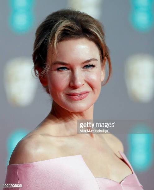 Renée Zellweger attends the EE British Academy Film Awards 2020 at the Royal Albert Hall on February 2 2020 in London England