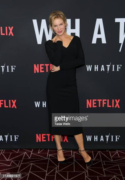 Renée Zellweger attends the premiere of Netflix's What/If at The London on May 16 2019 in West Hollywood California