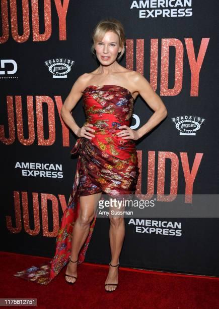 """Renée Zellweger attends the LA premiere of Roadside Attraction's """"Judy"""" at Samuel Goldwyn Theater on September 19, 2019 in Beverly Hills, California."""