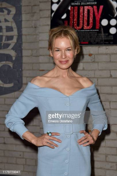 Rene Zellweger attends the RBC Hosted Judy Cocktail Party At RBC House Toronto Film Festival 2019 at RBC House on September 10 2019 in Toronto Canada