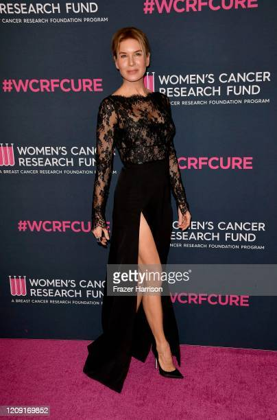 Renée Zellweger attends The Women's Cancer Research Fund's 'An Unforgettable Evening' at Beverly Wilshire A Four Seasons Hotel on February 27 2020 in...