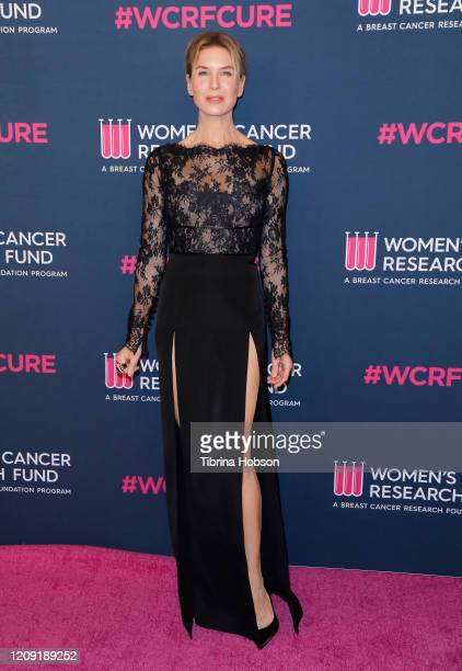 Renée Zellweger attends The Women's Cancer Research Fund's Unforgettable Evening 2020 at Beverly Wilshire A Four Seasons Hotel on February 27 2020 in...