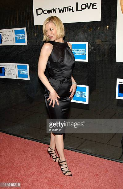 Renée Zellweger during 2003 Tribeca Film Festival 'Down With Love' World Premiere at Tribeca Performing Arts Center 199 Chambers Street in New York...
