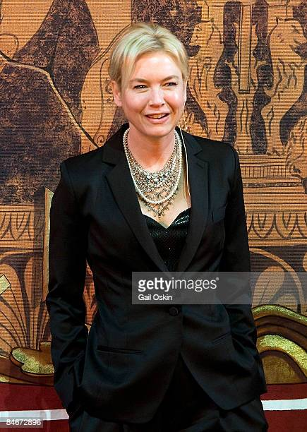Rene Zellweger is honored as Harvard University's Hasty Pudding Club's 2009 Woman of the Year at Harvard University on February 5, 2009 in Cambridge,...