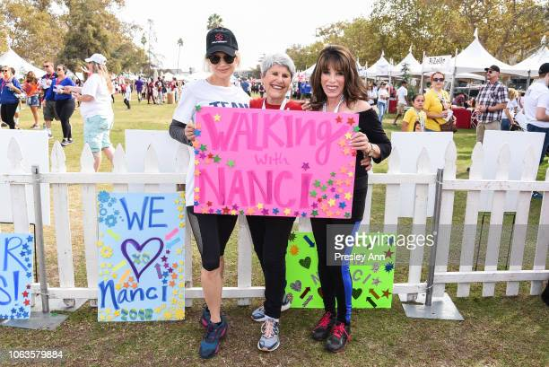 Renée Zellweger Kate Linder participates in Nanci Ryder's Team Nanci In The 16th Annual LA County Walk To Defeat ALS at Exposition Park on November...