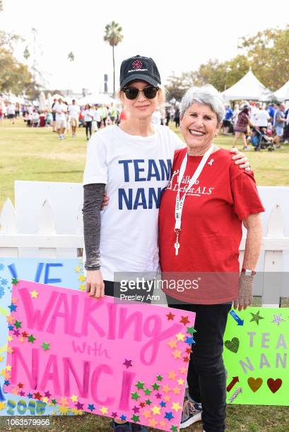 Renée Zellweger participates in Nanci Ryder's Team Nanci In The 16th Annual LA County Walk To Defeat ALS at Exposition Park on November 04 2018 in...