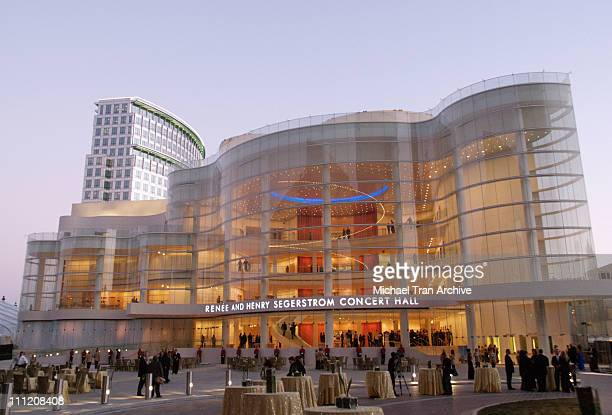 Renee and Henry Segerstom Concert Hall during Cartier Presents the Renee and Henry Segerstrom Concert Hall Opening Gala Arrivals at Orange County...