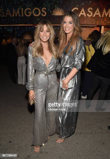 Renee Bargh and Delta Goodrem attend Casamigos Halloween Party on October 27 2017 in Los Angeles California