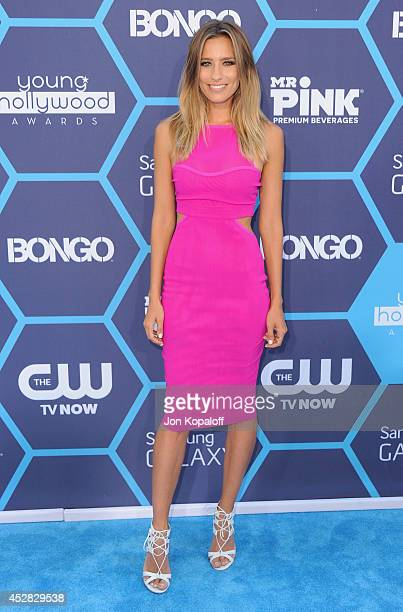 Renee Bargh arrives at the 16th Annual Young Hollywood Awards at The Wiltern on July 27 2014 in Los Angeles California