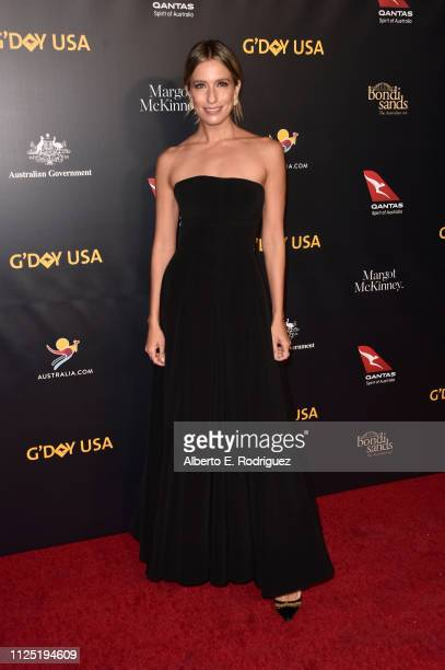 Renee Bargh attends the 16th annual G'Day USA Los Angeles Gala at 3LABS on January 26 2019 in Culver City California