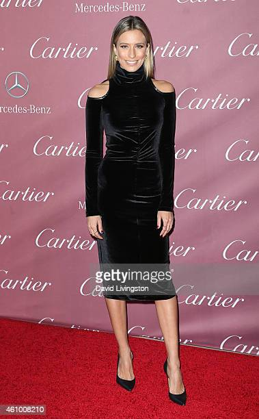 Renee Bargh attends the 26th Annual Palm Springs International Film Festival Awards Gala at the Palm Springs Convention Center on January 3 2015 in...