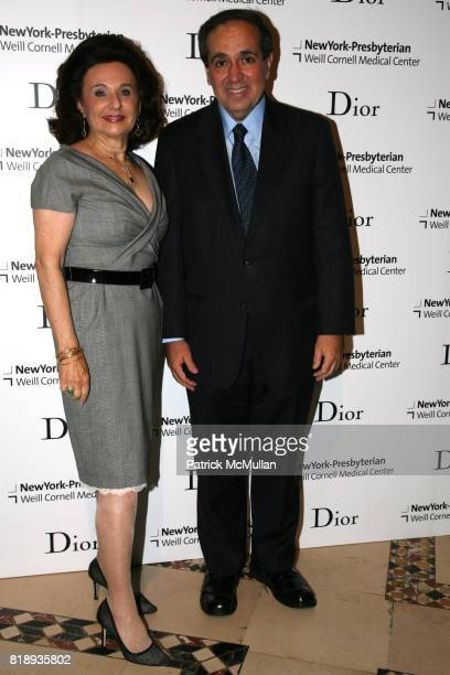 Renee Belfer and Dr Frank Chervenak attend The 25th Anniversary New York Presbyterian LyingIn Hospital Fashion Show and Luncheon featuring DIOR Fall...