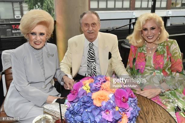 Renee Bernheim Jerry Bernheim and Harriette Rose Katz attend The Chosen Few's Third Anniversary Hosted by Harriette Rose Katz at Second on July 11...