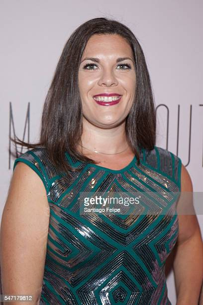 Renee Blinkwolt attends 'Small Mouth Sounds' Opening Night at The Pershing Square Signature Center on July 13 2016 in New York City