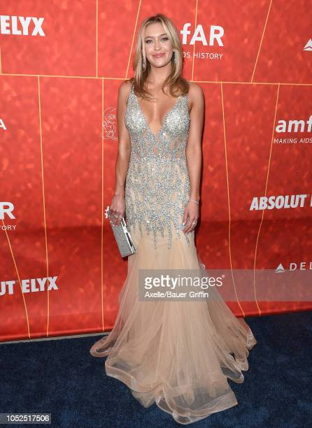 Renee Blythewood attends the amfAR Gala Los Angeles 2018 at Wallis Annenberg Center for the Performing Arts on October 18 2018 in Beverly Hills...