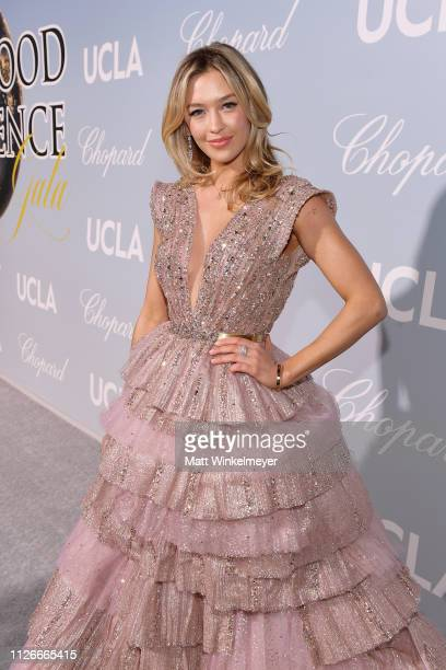 Renee Blythewood attends the UCLA IoES honors Barbra Streisand and Gisele Bundchen at the 2019 Hollywood for Science Gala on February 21 2019 in...