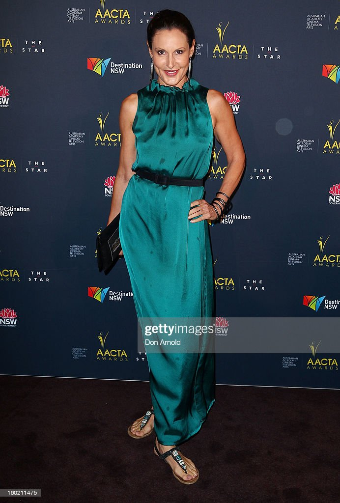 Renee Brack poses during the 2nd Annual AACTA Awards Luncheon at The Star on January 28, 2013 in Sydney, Australia.