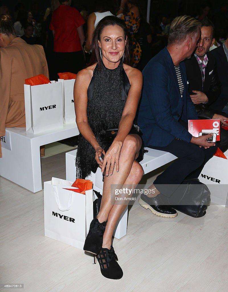 Jayson Brunsdon - Front Row - Mercedes-Benz Fashion Week Australia 2014
