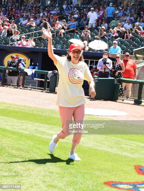 Renee Coleman attends 'A League of Their Own' 25th Anniversary Game at the 3rd Annual Bentonville Film Festival on May 7 2017 in Bentonville Arkansas
