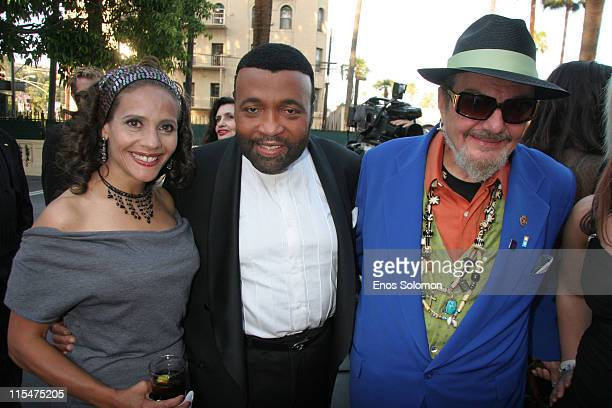 Renee Dawson Andrae Crouch and Dr John during American Society of Young Musicians 15th Annual Spring Benefit Concert Awards at Celebrity Centre...