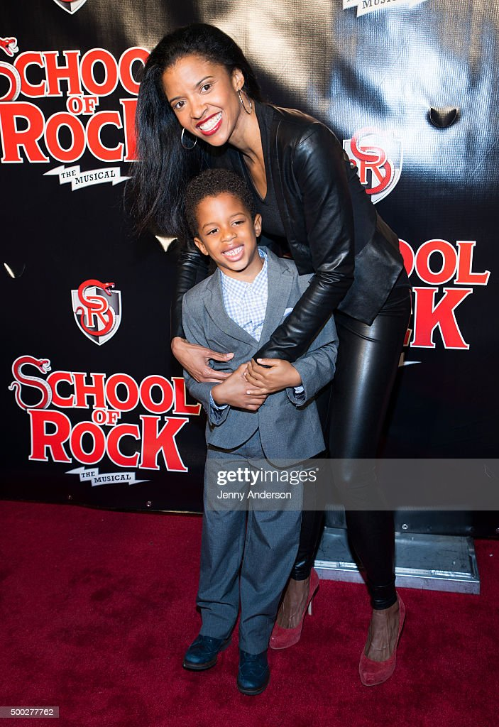 """""""School Of Rock"""" Broadway Opening Night - Arrivals And Curtain Call : News Photo"""