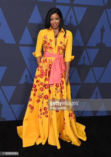 Renee Elise Goldsberry arrives at the Academy Of Motion Picture Arts And Sciences' 11th Annual Governors Awards at The Ray Dolby Ballroom at...