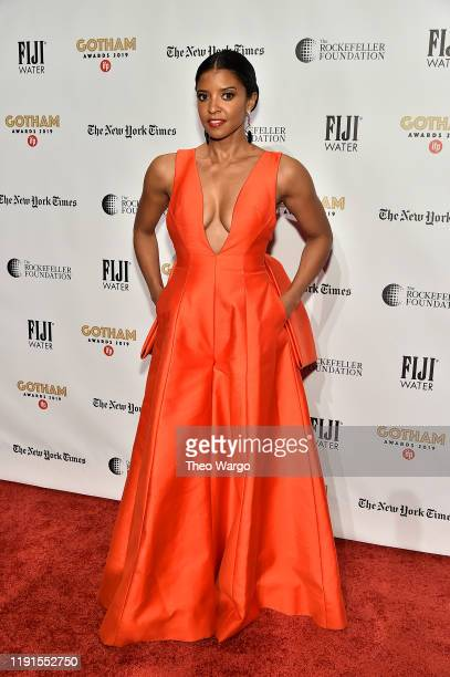 Renee Elise Goldsberry attends the IFP's 29th Annual Gotham Independent Film Awards at Cipriani Wall Street on December 02 2019 in New York City