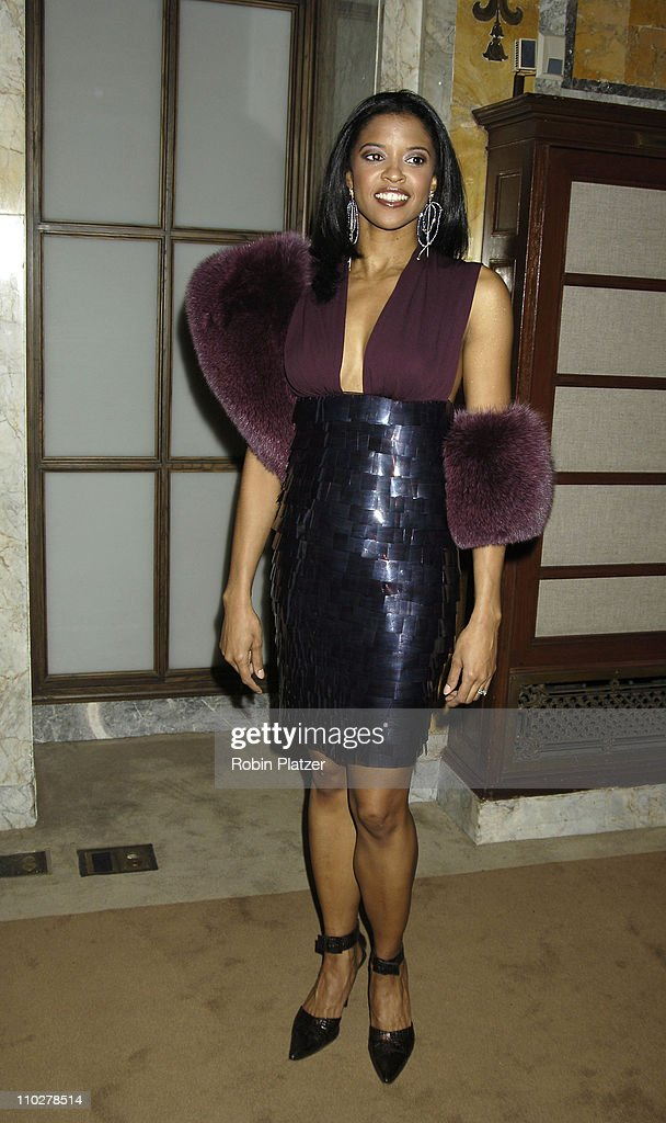 Renee Elise Goldsberry during 'The Color Purple' Broadway Opening Night - After Party at The New York Public Library in New York City, New York, United States.