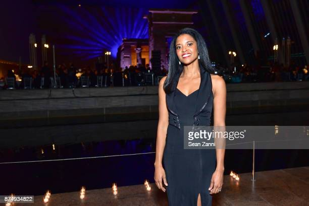 Renee Elise Goldsberry performs at The Aga Khan Foundation Gala at The Metropolitan Museum of Art on November 15 2017 in New York City