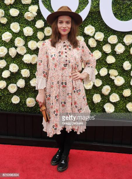 Renee Felice Smith arrives at the 2017 Summer TCA Tour CBS Television Studios' Summer Soiree at CBS Studios Radford on August 1 2017 in Studio City...