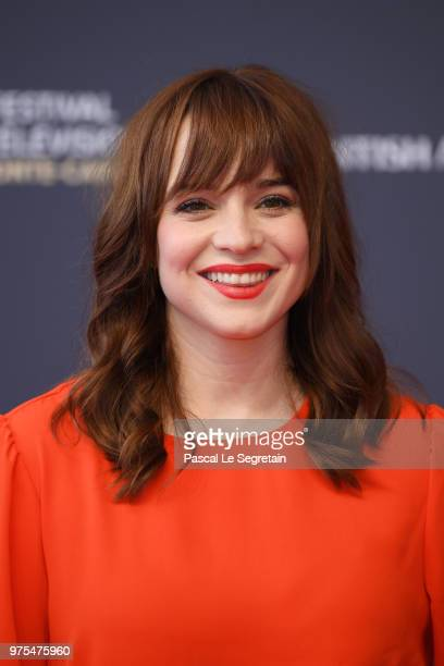 Renee Felice Smith attends the opening ceremony of the 58th Monte Carlo TV Festival on June 15 2018 in MonteCarlo Monaco