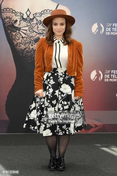 Renee Felice Smith from the serie NCIS LA attends a photocall during the 58th Monte Carlo TV Festival on June 16 2018 in MonteCarlo Monaco