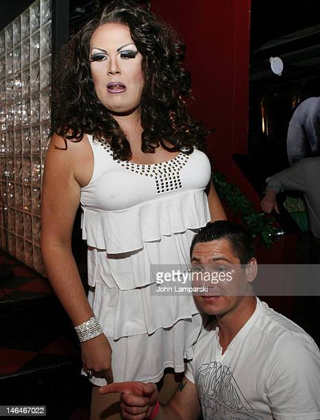 Renee Fleming and Alex Carr attend Alex Carr's birthday celebration>> at The Stonewall Inn on June 16 2012 in New York City