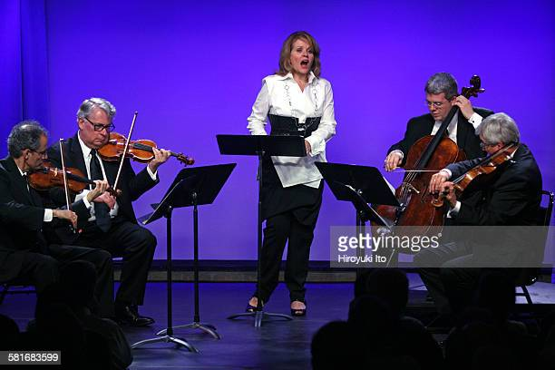 Renee Fleming and the Emerson String Quartet celebrate the release of their new album at SubCulture on Wednesday night, September 16, 2015.This...