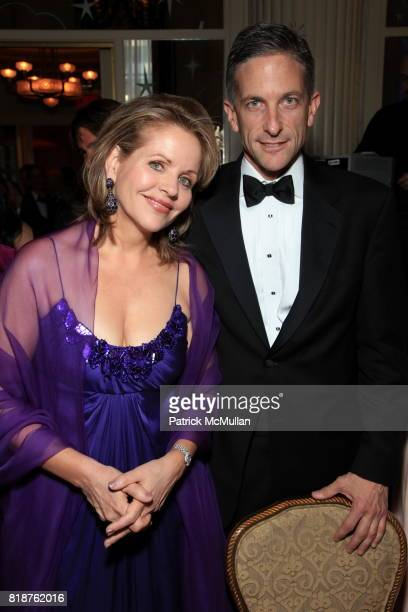 Renee Fleming and Tim Jessell attend Carnegie Hall Medal of Excellence Gala Honoring HENRY T SEGERSTROM at WaldorfAstoria on June 7 2010 in New York
