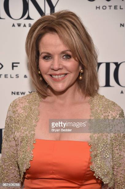Renee Fleming attends the Tony Honors Cocktail Party Presenting The 2018 Tony Honors For Excellence In The Theatre And Honoring The 2018 Special...