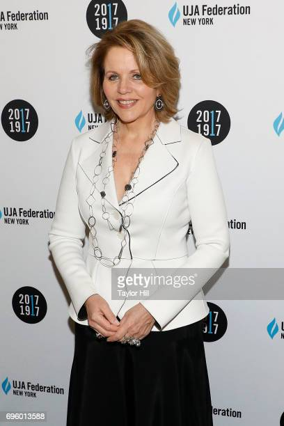 Renee Fleming attends the United Jewish Appeal Federation Of New York's 2017 Music Visionary Of The Year Award Luncheon at The Pierre Hotel on June...