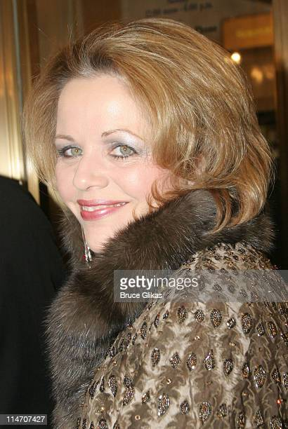 Renee Fleming during 'Phantom of the Opera' Becomes the LongestRunning Show on Broadway at The Majestic Theatre in New York City New York United...