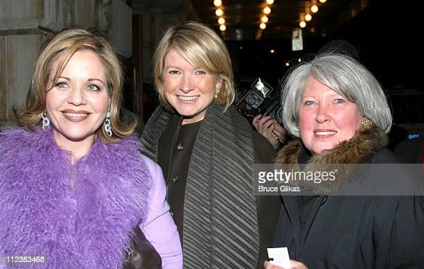 Renee Fleming Martha Stewart and producer Charlene Marshall