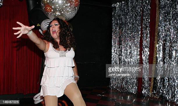 Renee Fleming performs at Alex Carr's birthday celebration>> at The Stonewall Inn on June 16 2012 in New York City