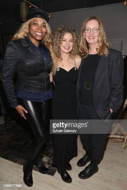 Renee Garnes Julie Stahl and Anne Geddes attend Blonde Co Creative House Holiday Party 2018 on December 6 2018 in New York City