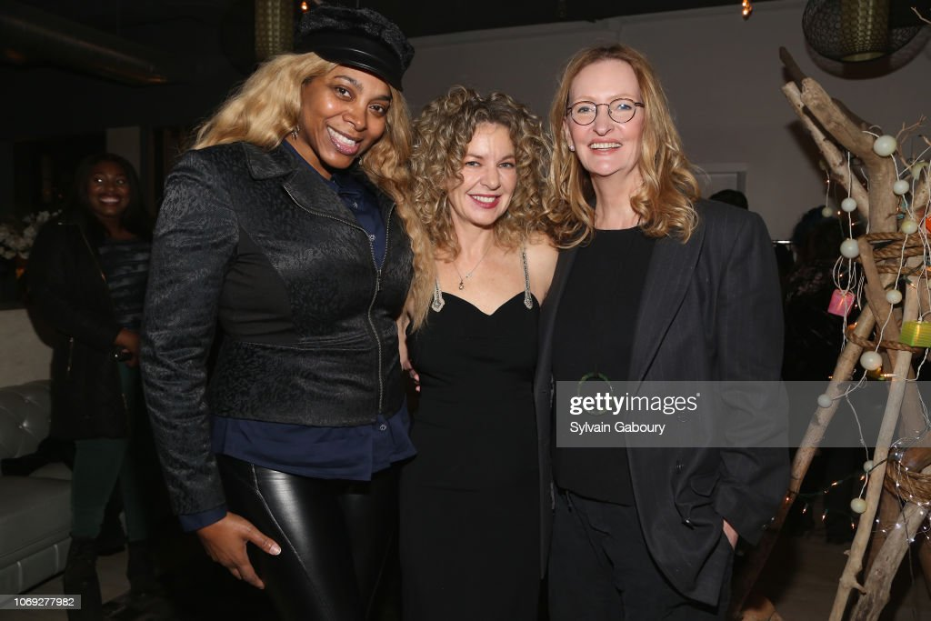 Blonde + Co Creative House Holiday Party 2018 : News Photo