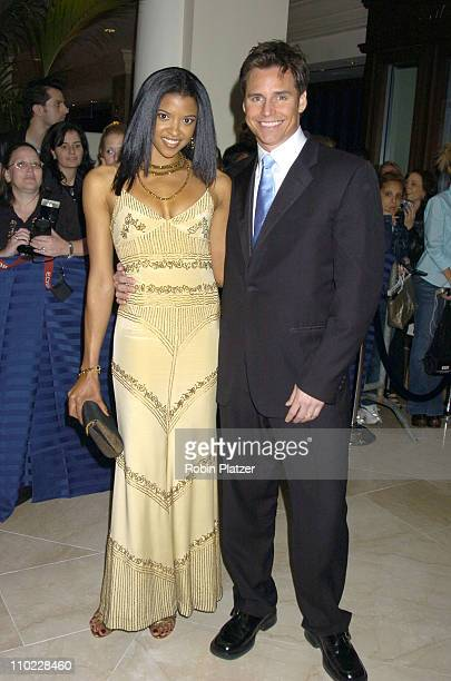 Renee Goldsberry and Dan Gauthier during 32nd Annual Daytime Emmy Awards Outside Arrivals at Radio City Music Hall in New York City New York United...